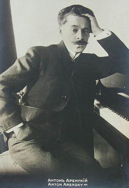 Anton Arensky 1861-1906