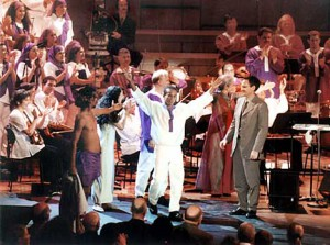 Golijov Passion of St Mark curtain call