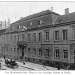 "The Mendelssohn family home at 3 Leipzigerstrasse, Berlin became the Upper Chamber of  the Prussian Parliament after Mendelssohn's death.  Mendelssohn's mother described its garden as ""a park, with splendid trees, a field, grass-plots and a delightful summer residence."""