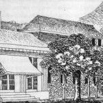 Mendelssohn's sketch of the Gartenhaus