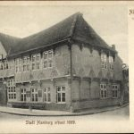 Gasthof 'Stadt Hamburg,'Bergedorf, as it was . . .