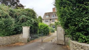 The Old Vicarage, Down Ampney, today