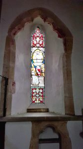 Memorial window to the Rev'd Arthur Vaughan Williams