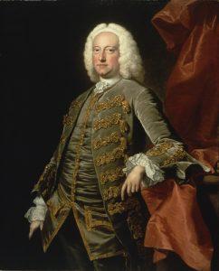 Charles Jennens by Thomas Hudson, c1740