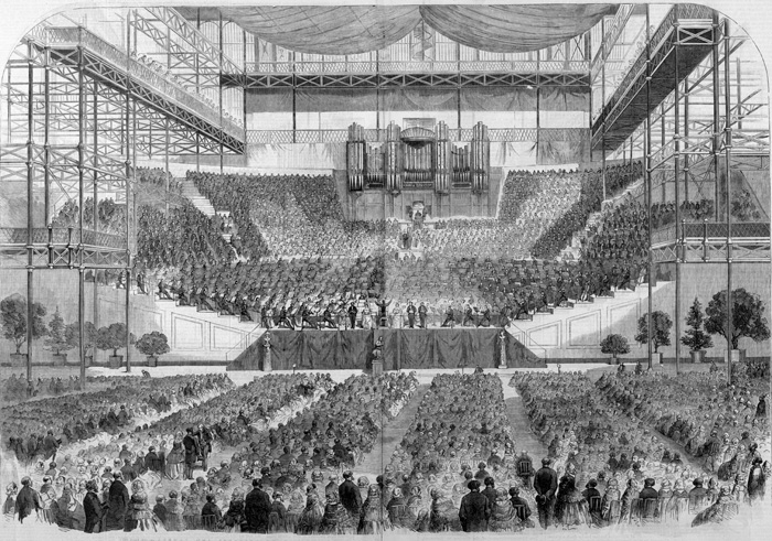 1857 Handel Festival at London's Crystal Palace